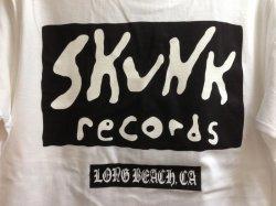 画像4: [SKUNK records] CLASSIC LOGO S/S Tee -WHITE-