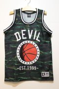 ☆SALE50%オフ [DEVILUSE] DEVIL Basketball Tank -Green- ※S,Mサイズのみ