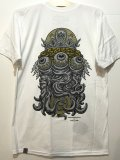 [seedleSs] ALIEN BRAIN Tee-White-
