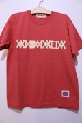 [ANIMALIA] AN16A-TE02 Aged T-shirts-Red-※Mのみ