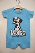 [LOU DOG] LOU DOG babyロンパース(半袖)-ブルー-