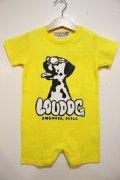 [LOU DOG] LOU DOG babyロンパース(半袖)-イエロー-