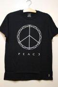 [Deviluse] PEACE T-shirts -Black-