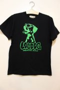 [LOU DOG] LOU DOG S/STee -BLACK/GREEN-