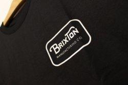 画像2: 【BRIXTON】 GRADE S/S STAND-Black-