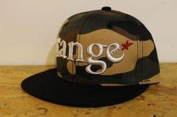 画像1: [range] range combinationl snap back cap -カモ/ブラック-