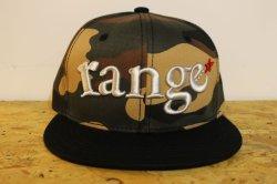 画像3: [range] range combinationl snap back cap -カモ/ブラック-