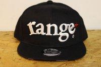 [range] range original snap back cap -Black/White-