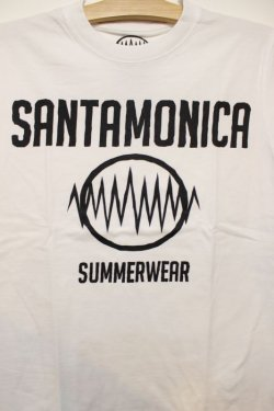 画像2: [SANTAMONICA SUMMER WEAR] SMSW logo Tee -White/Black-