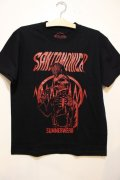 [SANTAMONICA SUMMER WEAR] Suicide skull -Black/Red-