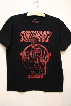 画像1: [SANTAMONICA SUMMER WEAR] Suicide skull -Black/Red-