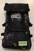 [seedless] Coverd back pack-camo-