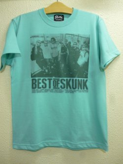 画像4: [SKUNK records] Best of SKUNK S/S Tee -Mint Green-