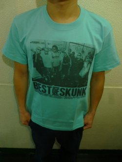 画像3: [SKUNK records] Best of SKUNK S/S Tee -Mint Green-