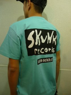 画像2: [SKUNK records] Best of SKUNK S/S Tee -Mint Green-