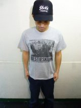 [SKUNK records] Best of SKUNK S/S Tee -gray-