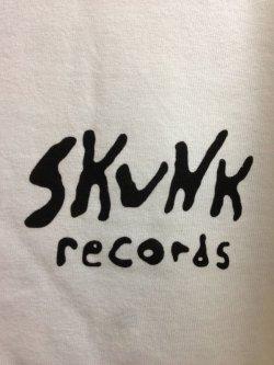 画像3: [SKUNK records] CLASSIC LOGO S/S Tee -WHITE-