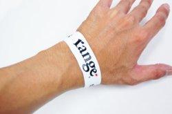 画像4: [range] range rubber bracelet -Black/White-
