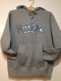 ☆SALE50%オフ!![seedleSs] No.42 PULLOVER HOODY -h,gray-※Mサイズのみ