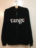 [range] range logo sweat zip hoody-Black-