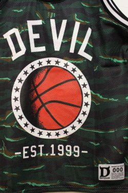 画像2: ☆SALE50%オフ [DEVILUSE] DEVIL Basketball Tank -Green- ※S,Mサイズのみ