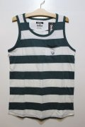 ☆SALE30%OFF[Deviluse] Deviluse Border Tank Top -Green-
