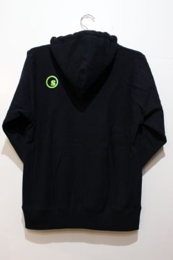 画像3: [seedleSs] COOP PULL OVER HOODY -Black-