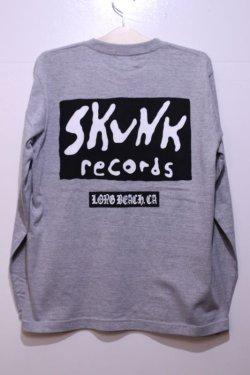 画像3: [SKUNK records] CLASSIC LOGO ロングスリーブ -Gray-