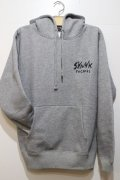 SKUNK records-Classic Pull HOODIE -GRAY-