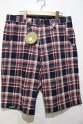 ☆SALE50%オフ [seedleSs] SD check shorts -red- ※Mサイズのみ