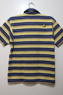 画像3: ☆SALE50%オフ [seedleSs] STRIPE POLO-Yellow- ※Mサイズのみ