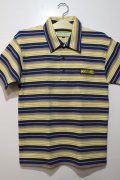 ☆SALE50%オフ [seedleSs] STRIPE POLO-Yellow- ※Mサイズのみ
