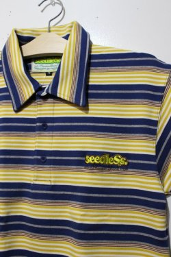 画像2: ☆SALE50%オフ [seedleSs] STRIPE POLO-Yellow- ※Mサイズのみ