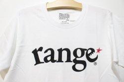 画像2: [range] logo S/S Tee -White/Black-