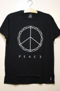 [Deviluse] PEACE T-shirts -Black-