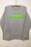 [seedleSs]CoopRegular L/S Tee -Gray-
