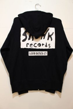 画像3: [SKUNK records] Classic ZIP HOODIE-BLACK-