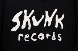 画像2: [SKUNK records] FRONT Logo Pull HOODIE -BLACK-