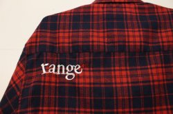 画像4: ☆SALE30%OFF [range] range original check nel shirts -Red×Navy- ※Mサイズのみ