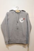 ☆SALE30%OFF [range] e-star on the hood zipup sweat-Grey- ※Mサイズのみ