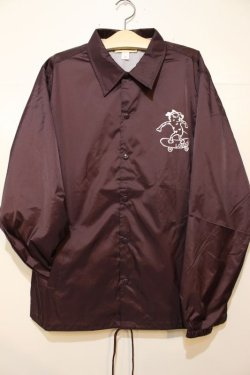 画像1: [LOU DOG] LOUDOG Skate WIND BREAKER -Burgundy-