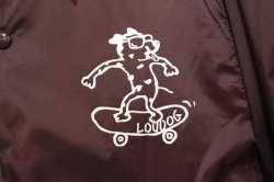 画像2: [LOU DOG] LOUDOG Skate WIND BREAKER -Burgundy-
