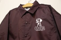 画像2: [LOU DOG] LOUDOG WIND BREAKER -Burgundy-