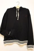 ☆SALE50%OFF [range] range logo sweat pullover Hoody -Black- ※残りMサイズのみ