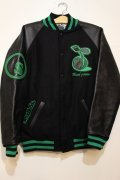 ☆SALE30%オフ[seedleSs] Stadium JKT -Black/Green- ※Mサイズのみ