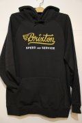 【BRIXTON】 Mach Hood Fleece-Black-