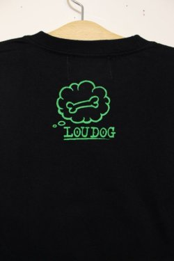 画像4: [LOU DOG] LOU DOG S/STee -BLACK/GREEN-