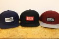 【BRIXTON】 LANGLEY SNAPBACK-Navy,Black,Burgundy-