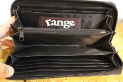 画像4: [range] range long camo wallet -Blue Camo-