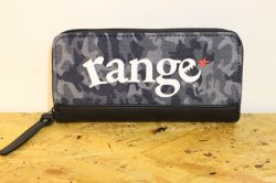 画像1: [range] range long camo wallet -Blue Camo-